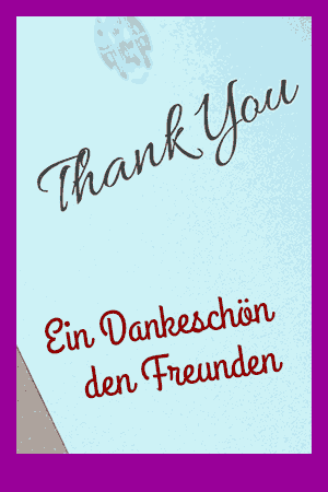 Chornoten: Ein Dankeschön den Freunden