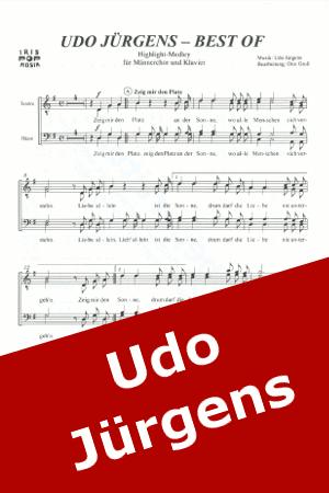 Chornoten: Best of Udo Jürgens (vierstimmig)