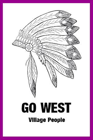 Chornoten: Go West (vierstimmig)