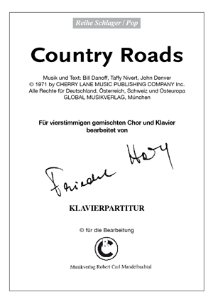 Chornoten: Country Roads