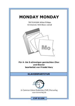 Chornoten: Monday Monday (vierstimmig)