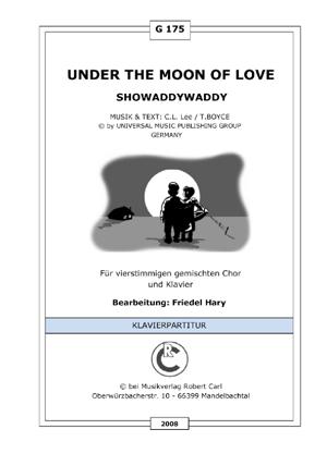 Under the moon of love (vierstimmig)