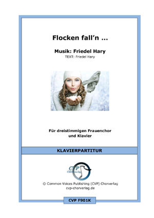 Flocken fall'n (vierstimmig)