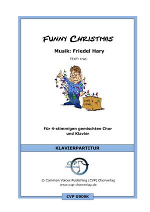 Chornoten: Funny Christmas (vierstimmig)