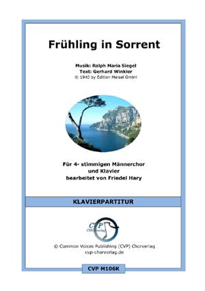Chornoten: Frühling in Sorrent (vierstimmig)