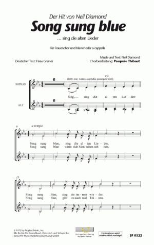 Chornoten Song sung blue (...sing die alten Lieder)