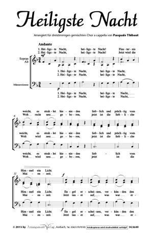Chornoten: Heiligste Nacht
