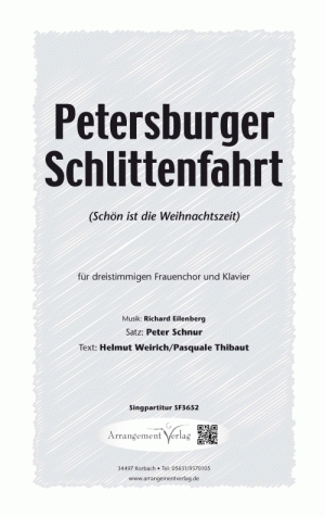 Chornoten: Petersburger Schlittenfahrt