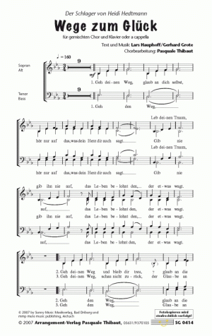 Chornoten Wege zum Glück