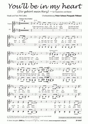 Chornoten Dir gehört mein Herz