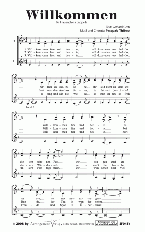 Chornoten Willkommen