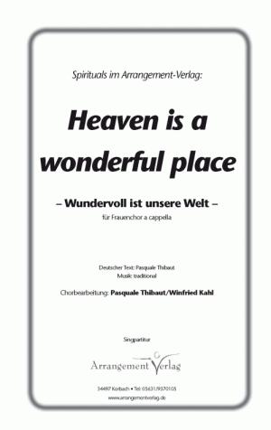 Chornoten Heaven is a wonderful place