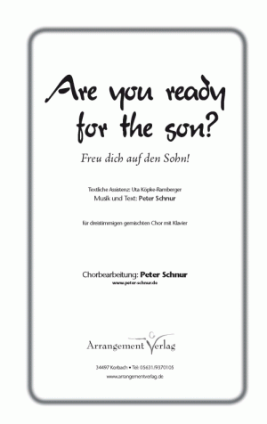 Chornoten Are you ready for the son?