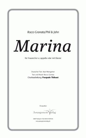 Chornoten: Marina für Frauenchor