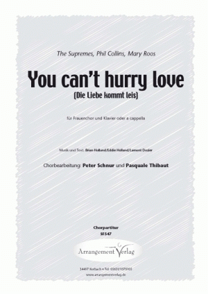 Chornoten: You can't hurry love