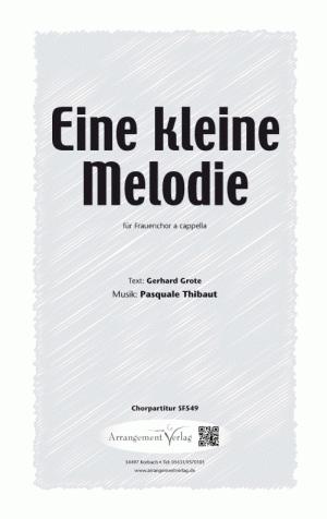 Chornoten: Eine kleine Melodie für Frauenchor