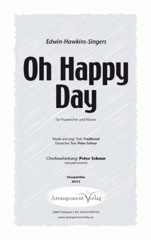 Chornoten: Oh Happy Day (Ein schöner Tag) für Frauenchor
