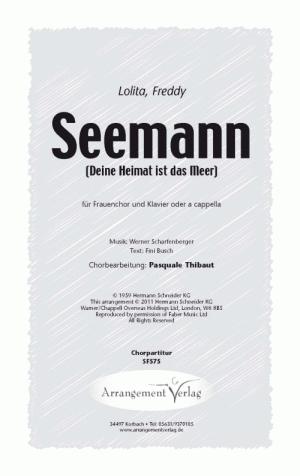 Chornoten: Seemann (Dreistimmig)