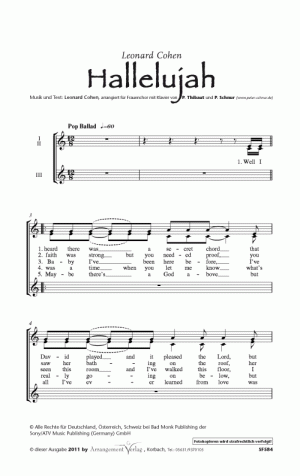 Chornoten Hallelujah! (Cohen)