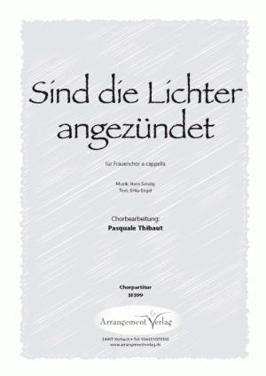 Chornoten: Sind die Lichter angezündet (dreistimmig)