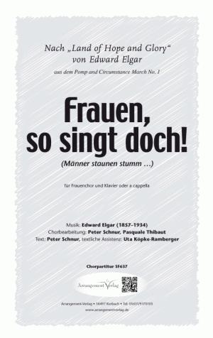 Chornoten: Frauen, so singt doch!