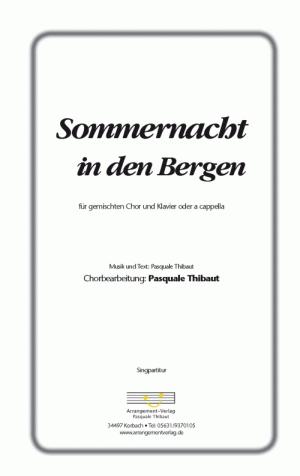 Chornoten: Sommernacht in den Bergen (vierstimmig)