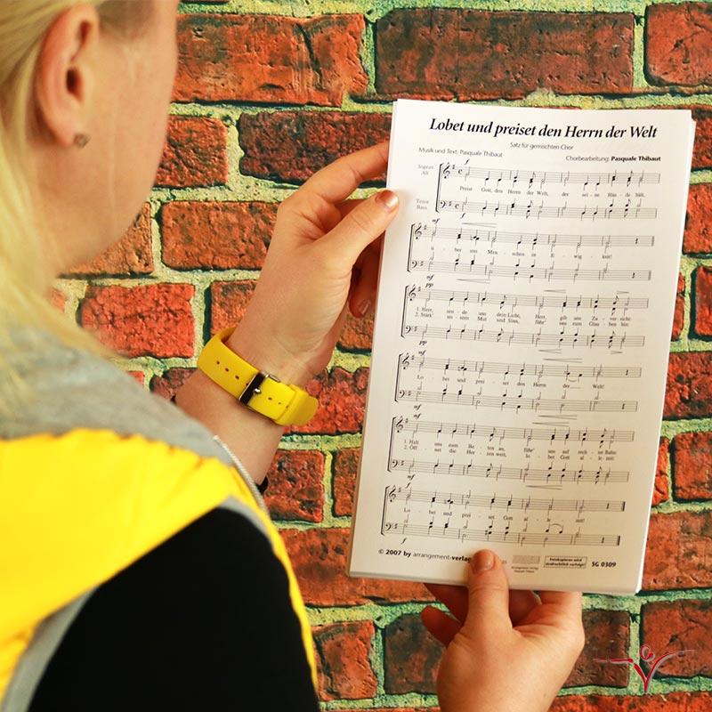 Chornoten: Lobet und preiset den Herrn der Welt (dreistimmig)