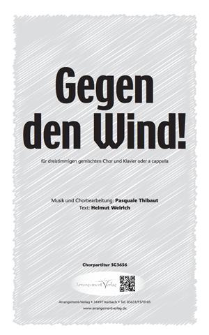 Chornoten: Gegen den Wind! (dreistimmig)