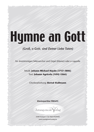 Hymne an Gott für gemischten Chor