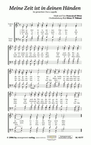 Chornoten: Meine Zeit ist in deinen Händen