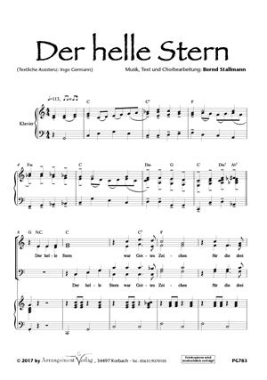 Chornoten: Der helle Stern (dreistimmig)