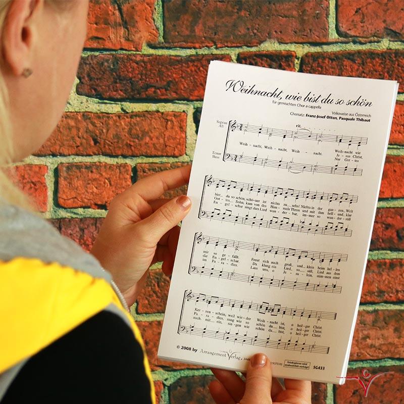 Chornoten: Weihnacht, wie bist du so schön