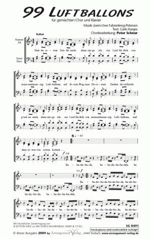 Chornoten 99 Luftballons