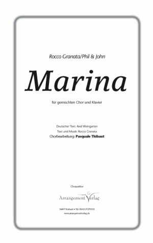Marina (vierstimmig)