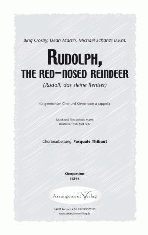 Chornoten: Rudolf, das kleine Rentier (dreistimmig)