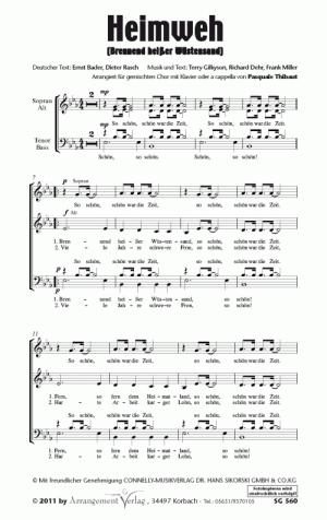 Chornoten: Heimweh