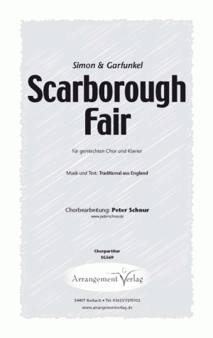 Chornoten: Scarborough Fair (vierstimmig)