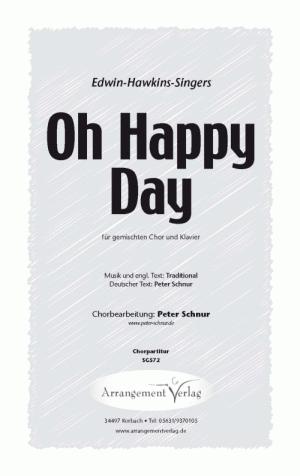 Chornoten: Oh Happy Day (Ein schöner Tag) für gemischten Chor