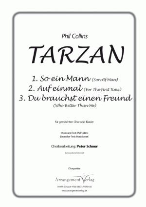 Chornoten: Tarzan Medley (vierstimmig)