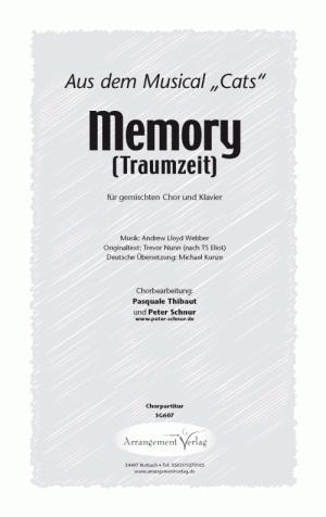 Chornoten: Memory - Traumzeit (vierstimmig)