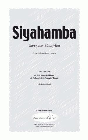 Chornoten: Siyahamba für gemischten Chor