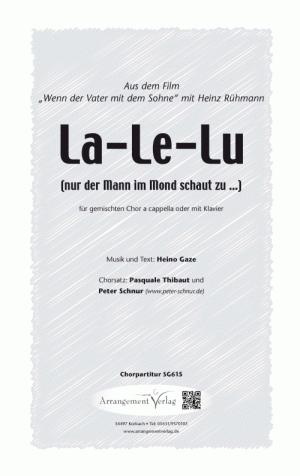 Chornoten: La-Le-Lu (vierstimmig)