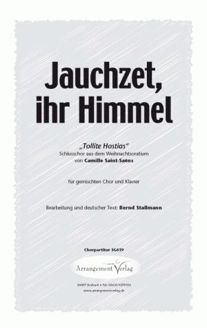 Chornoten: Jauchzet, ihr Himmel (vierstimmig)