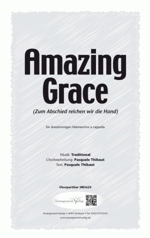 Chornoten: Amazing Grace (vierstimmig)