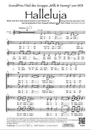 Chornoten: Halleluja (vierstimmig)