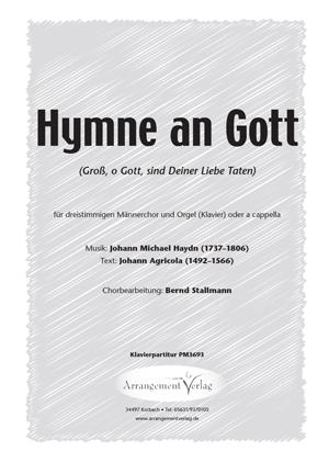 Chornoten: Hymne an Gott