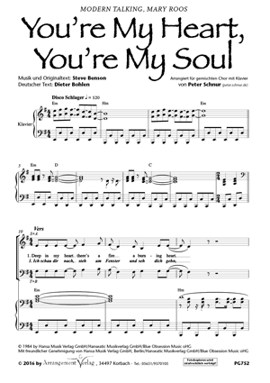 Chornoten: You´re my heart, you´re my soul