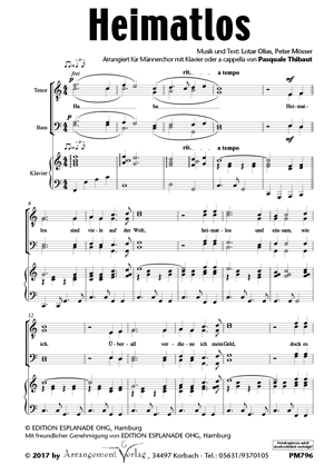 Chornoten: Heimatlos