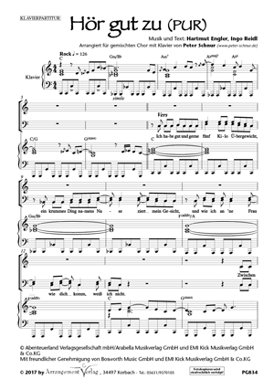 Chornoten: Hör gut zu