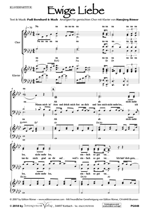Chornoten: Ewige Liebe